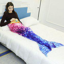Mermaid Flannel Sleeping Blanket Mermaid Tail Blanket -
