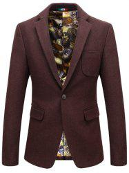 Men's Thick Woolen Slim Casual Jacket -