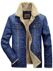 Men's Casual Plus Velvet Thick Coat -
