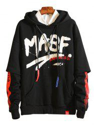 Men's Simple Creative Hoodie -