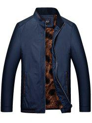 Winter Stand Collar Men's Business Casual Jacket -