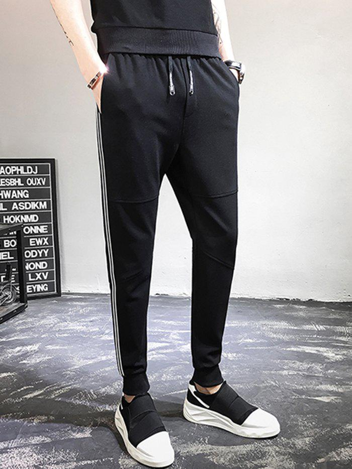 Chic Casual Overalls Men Loose Feet Sport Pants