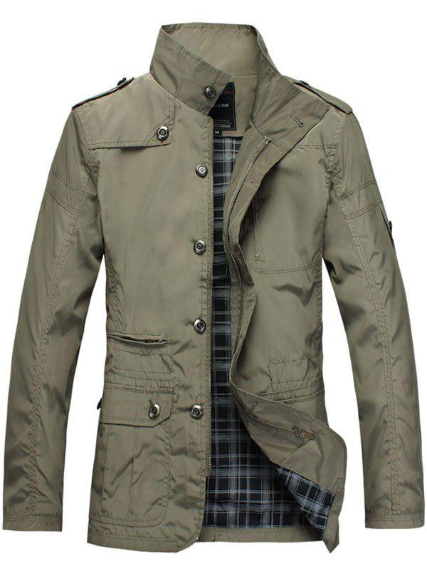 Outfit Windbreaker Polyester Large Size Men's Jacket