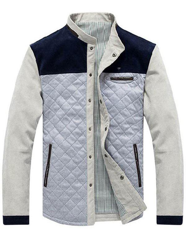 Chic Men's Jacket Corduroy Casual Jacket