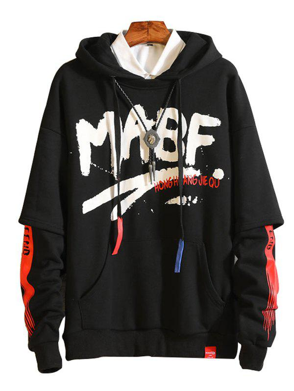 Outfits Men's Simple Creative Hoodie