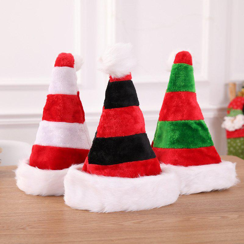 shops high grade double plush christmas decoration hat - Candy Christmas Decorations