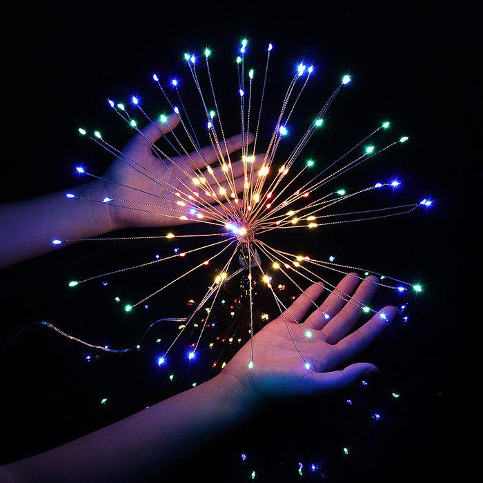 Chic DC5V USB DIY Firework Starburst 120 LED Sliver Fairy String Light Remote Control Christmas Decor