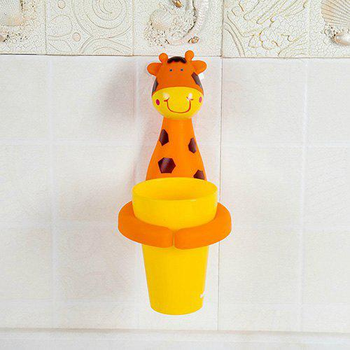 Trendy Creative Cartoon Baby Wash Mouth Mug Wall Hanging Suction Cup