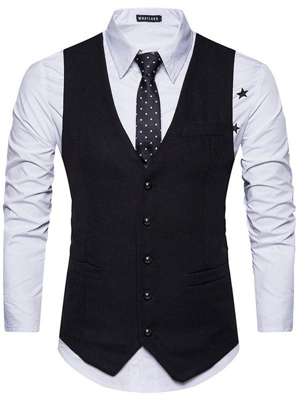 Shops Men's Casual Professional Suit Vest