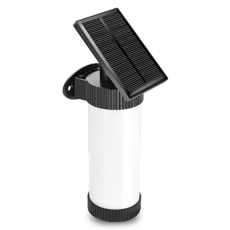 Affordable Solar Simulation Flame Wall Lamp for Outdoor Courtyard Garden Landscape Human Body Induction LED Street Light