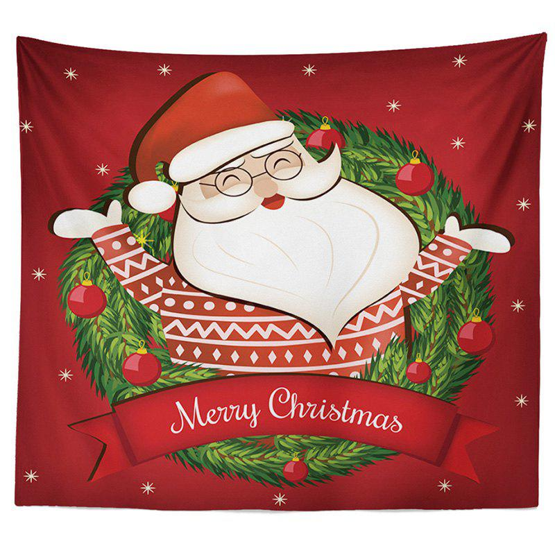 Trendy Decorative Tapestry Christmas Series TV Background Wall Landscape Polyester Cloth Lanyard