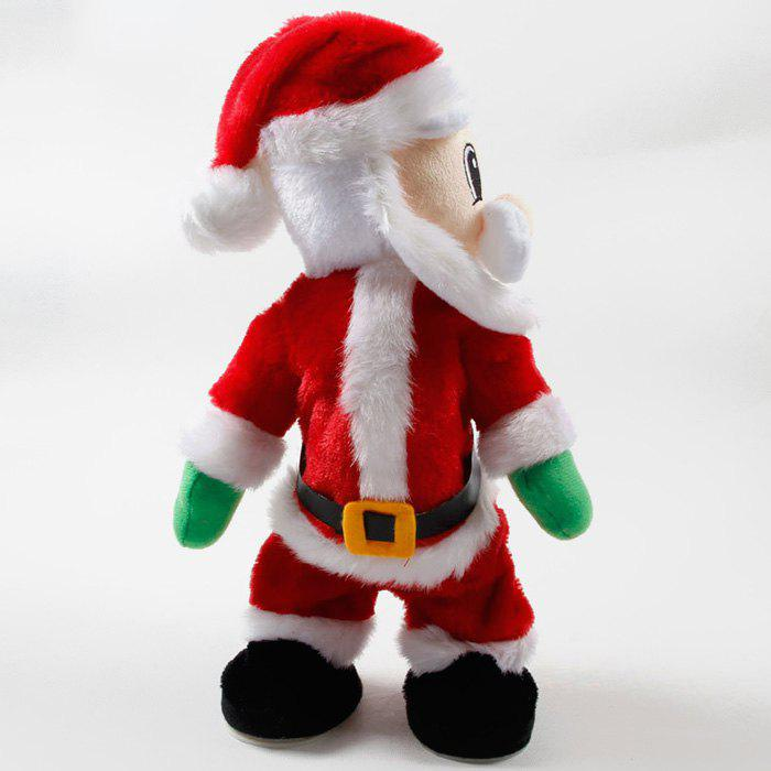 Sale Christmas Decorations Electric Creative Twist Music Santa Claus Doll