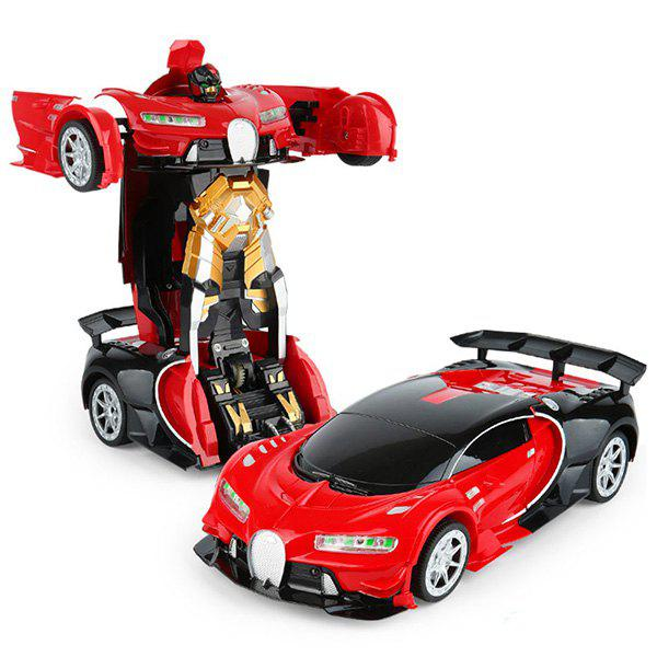 Affordable Gesture Sensing 1:12 Large One-button Deformation Remote Control Car Toy