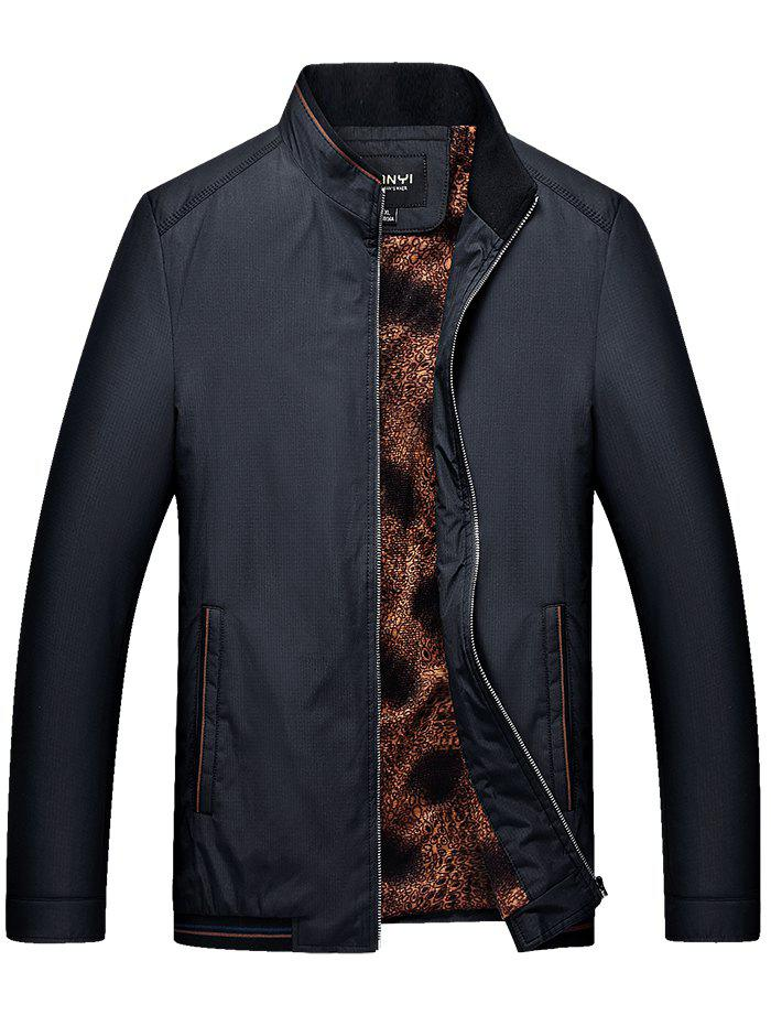 Shop Winter Stand Collar Men's Business Casual Jacket