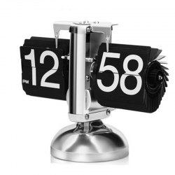European Automatic Page Clock Retro Living Room Simple Home Decoration Ornaments -