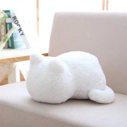 Cute Fat Back Cat Pillow Doll -