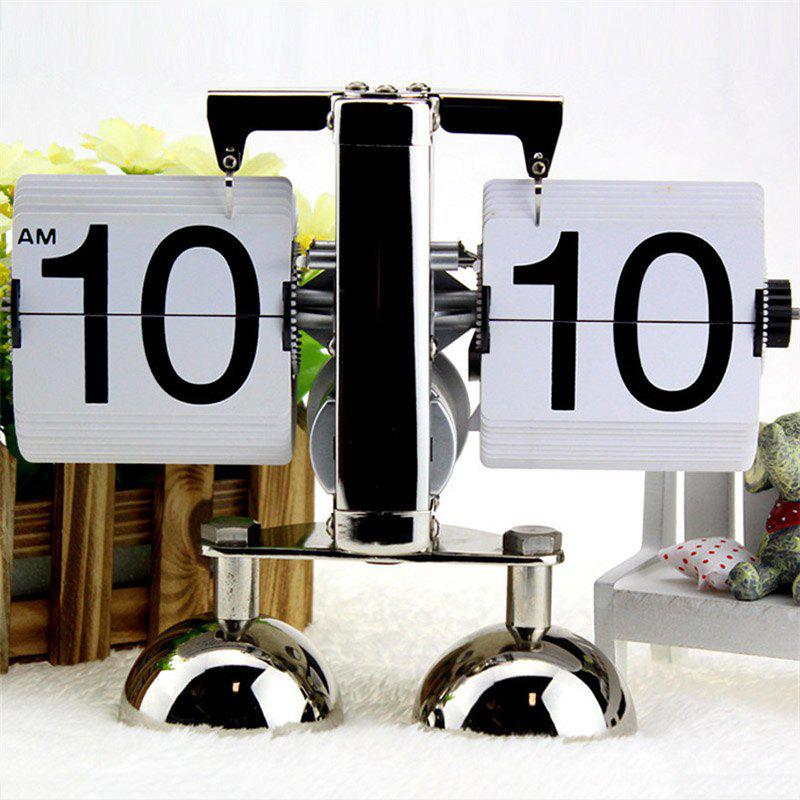 Outfit European Automatic Page Clock Retro Living Room Simple Home Decoration Ornaments