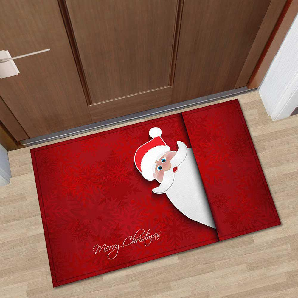 40x60cm Christmas Kitchen Bathroom Mat Personality Entry Pad Absorbent Non-slip