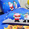 Christmas Series Quilt Home Textile Kit Bedding Three-piece Cool Pattern Couple Kit -