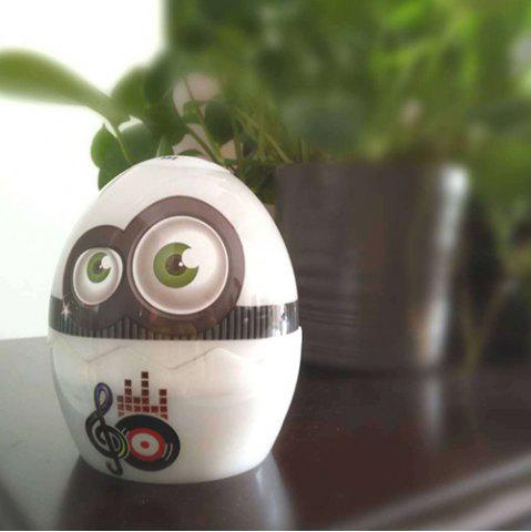 T 989A Lifting Fun Egg Novelty Colorful Emotion Lights Wireless Bluetooth Speaker Audio Sleep Night Light
