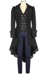 Woman's Swallow-tailed Gothic Coat -
