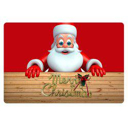 Stylish Santa Mat Pattern Customized Mat 40 x 60cm -