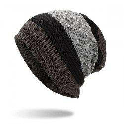 Knitted Sweater Cap for Autumn and Winter -