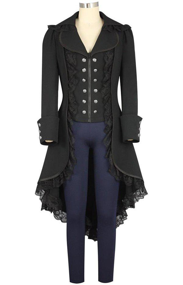 Shop Woman's Swallow-tailed Gothic Coat