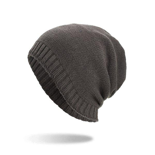 Buy Casual Warm Skully Hat Beanie Thick Caps