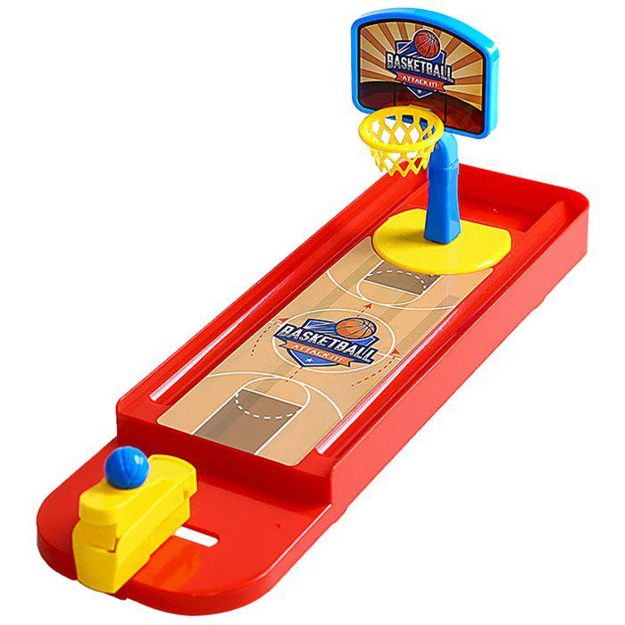 Children's Educational Interactive Table Games Desktop Throwing Basketball Toy