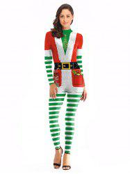 Santa Claus Performance Clothing Christmas Clothes Coveralls -