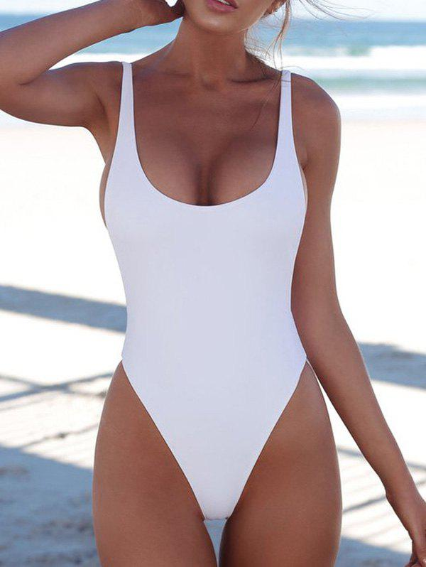 Chic Beauty One-pieceSexy Solid Color Bikini