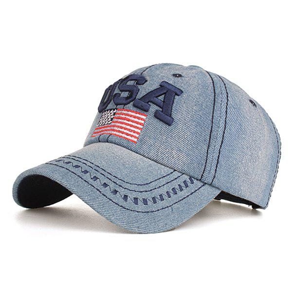 Outfit Simple American Flag Baseball Cap