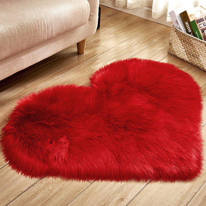 Buy Love Wool-like Carpet Mat Mattress Blanket Sofa Cushion Mat Plush Carpet 70x90cm