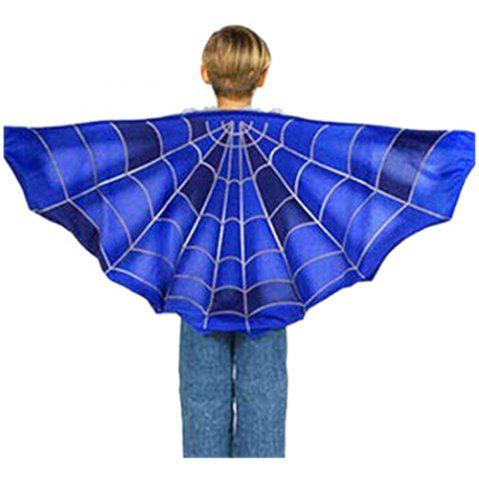 Dream Butterfly Wing Shawl Colorful Blanket Scarf Toy - MULTI-A - BLUE SPIDER