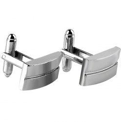 Men's Cufflinks Alloy Plating Fashion 2pcs -