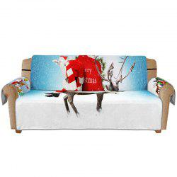 3D Digital Printed Christmas Series Santa Claus Sofa Cushion -