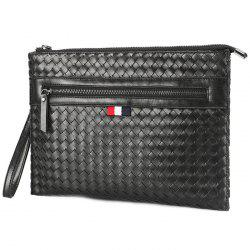 Tide Casual Business Woven Clutch Bag -
