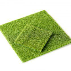 6 - ZZLJ9719 Micro Landscape Simulation False Turf 30 x 30CM -