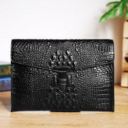 Fashion Retro Envelope Clutch Bag Trend Leather Handbag -