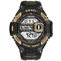 SMAEL 1516 Single Display Outdoor Sports Waterproof Shockproof Sports Watch -