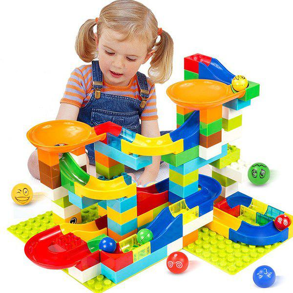 Fashion DIY Slide Puzzle Big Particles Spell Insert Blocks Toy