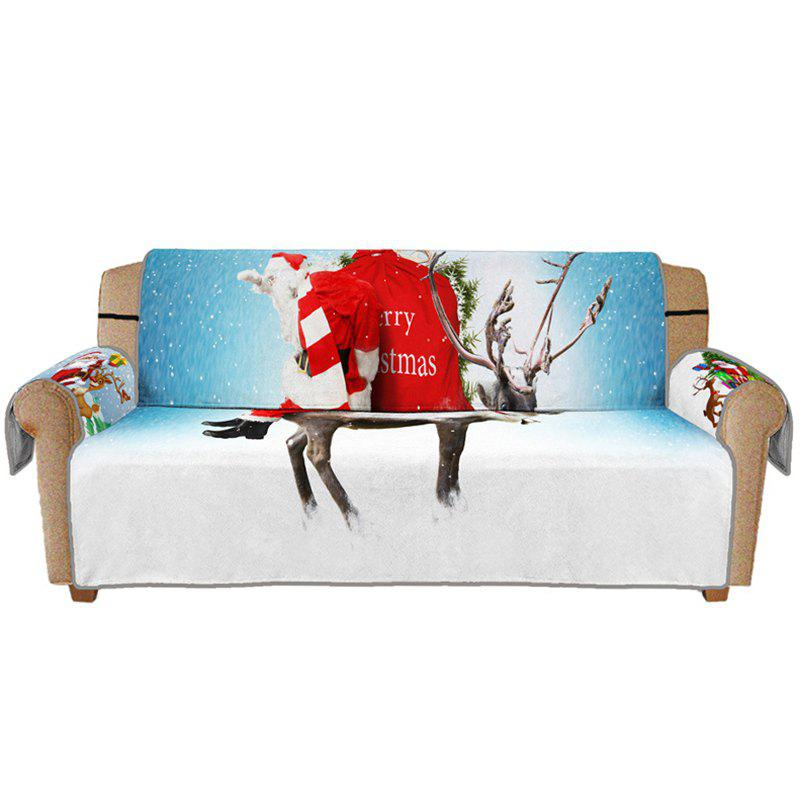 Cheap 3D Digital Printed Christmas Series Santa Claus Sofa Cushion