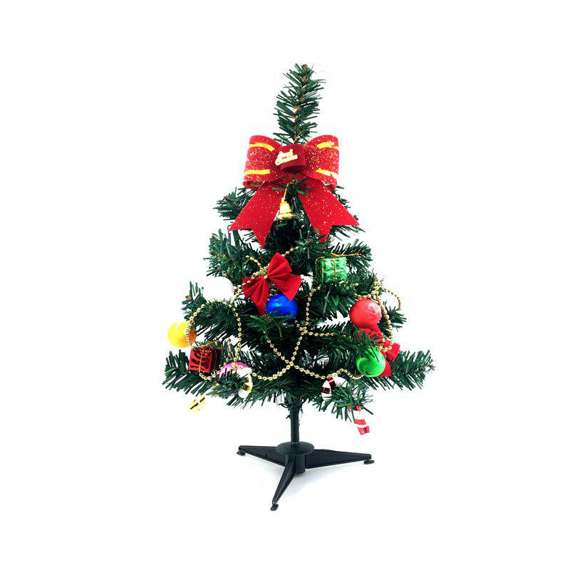 Unique Decorative Christmas Tree with Ornaments