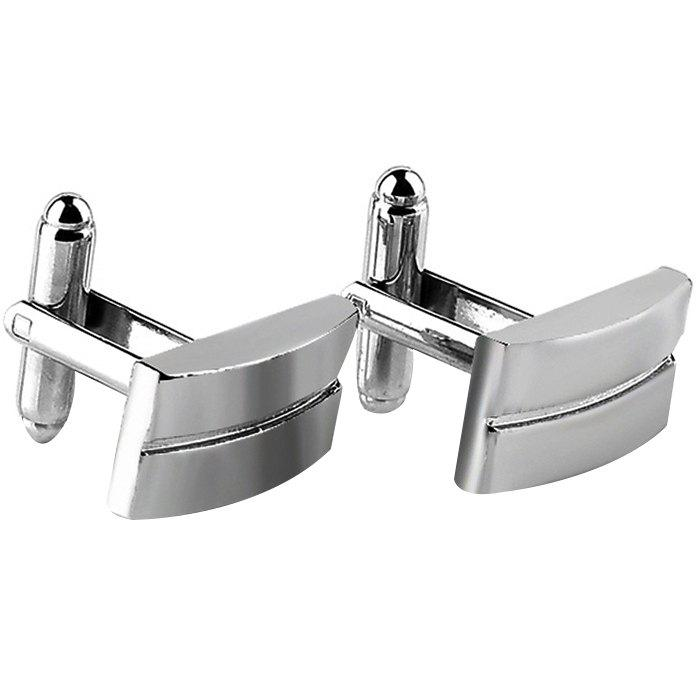 Buy Men's Cufflinks Alloy Plating Fashion 2pcs