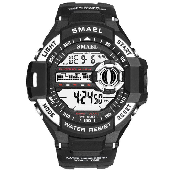 SMAEL 1516 Single Display Outdoor Sports Waterproof Shockproof Sports Watch