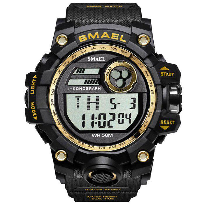 SMAEL 1545 Outdoor Sports Waterproof And Shockproof Single Display Men  Sports Watch With Box