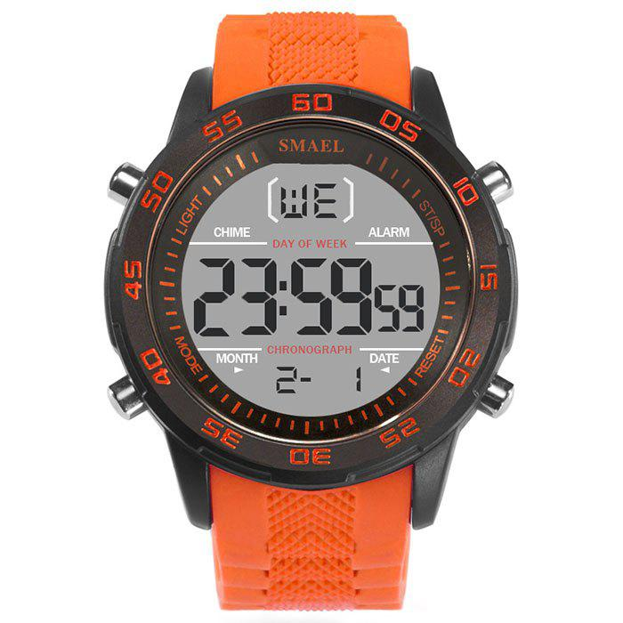 Online SMAEL 1067 Single Classic Fashion Men's Large Dial Silicone Belt Watch