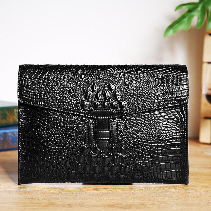 Chic Fashion Retro Envelope Clutch Bag Trend Leather Handbag