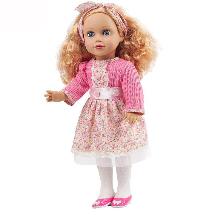 Online 18 inch Beautiful Girl Simulation Doll Toy